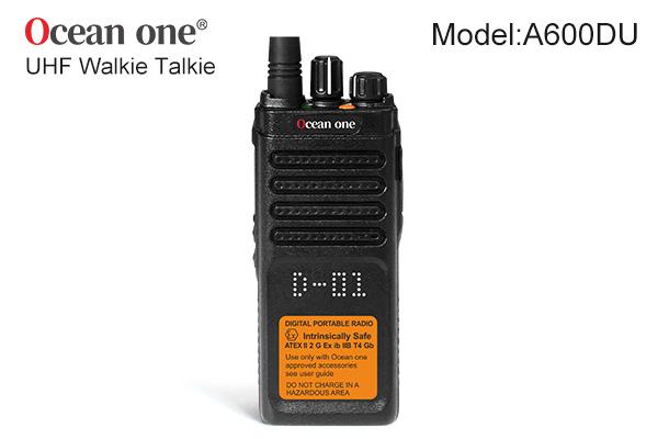 A600DU digital walkie talkie