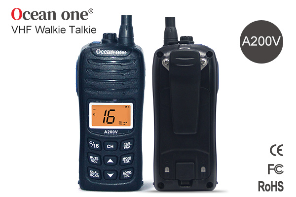 Waterproof walkie talkie level