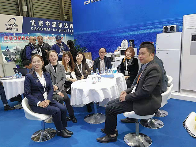 2019 Shanghai Maritime Exhibition ends successfully-HZH MARINE GROUP