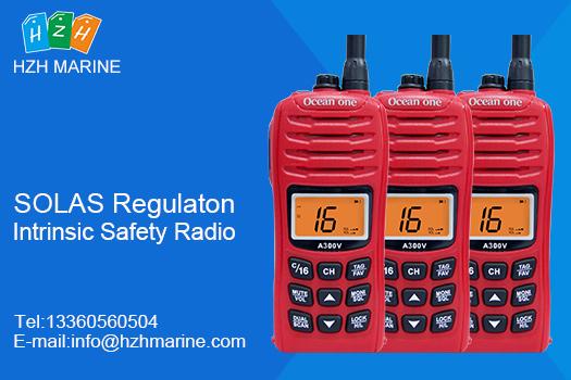 Why use intrinsic safety radio on passenger ships