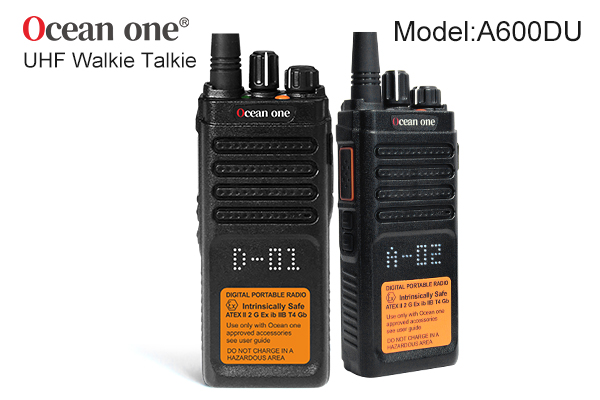 Digital two way radio development advantages