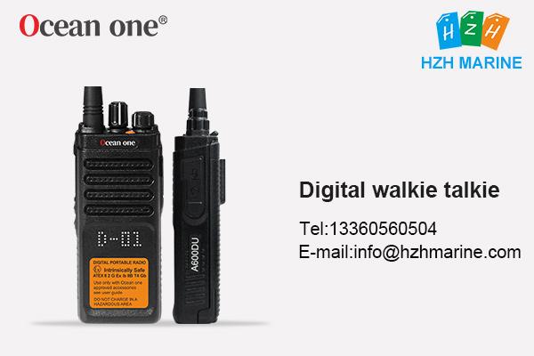 Chinese digital walkie talkie Ocean one A600DU
