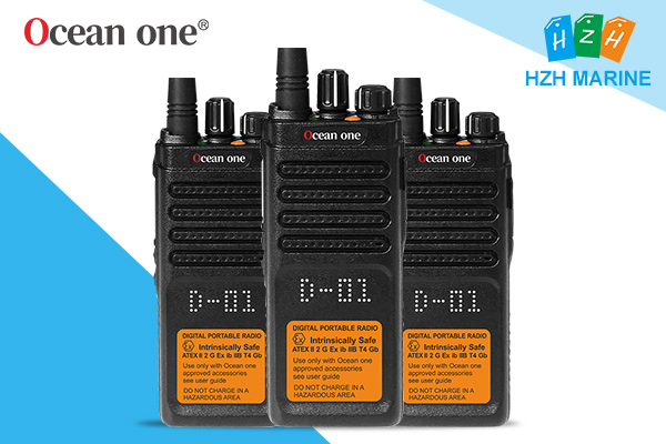 Precautions for use explosion proof two way radio