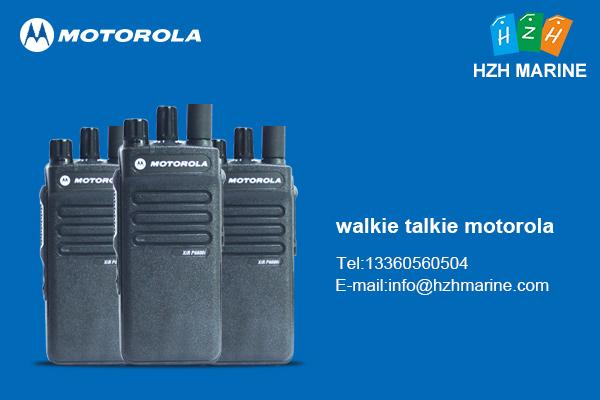 walkie talkie motorola vhf