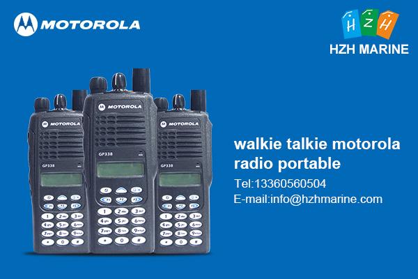 walkie talkie motorola radio portable price