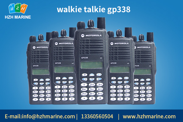Walkie talkie gp338 performance