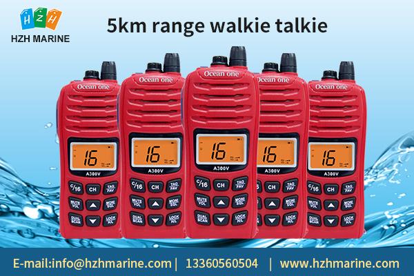 Advantages of 5km range walkie talkie