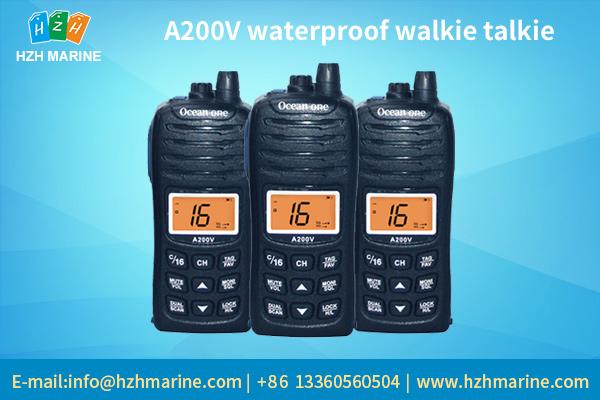 handheld marine radio
