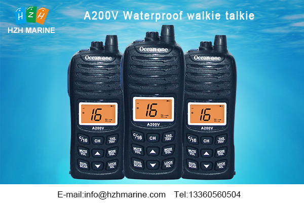 waterproof marine two way radios