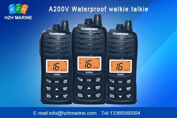 waterproof marine walkie talkie