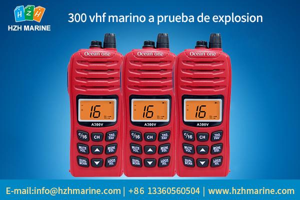 marine two way radio transmitter