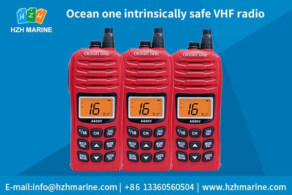 intrinsically safe vhf radios