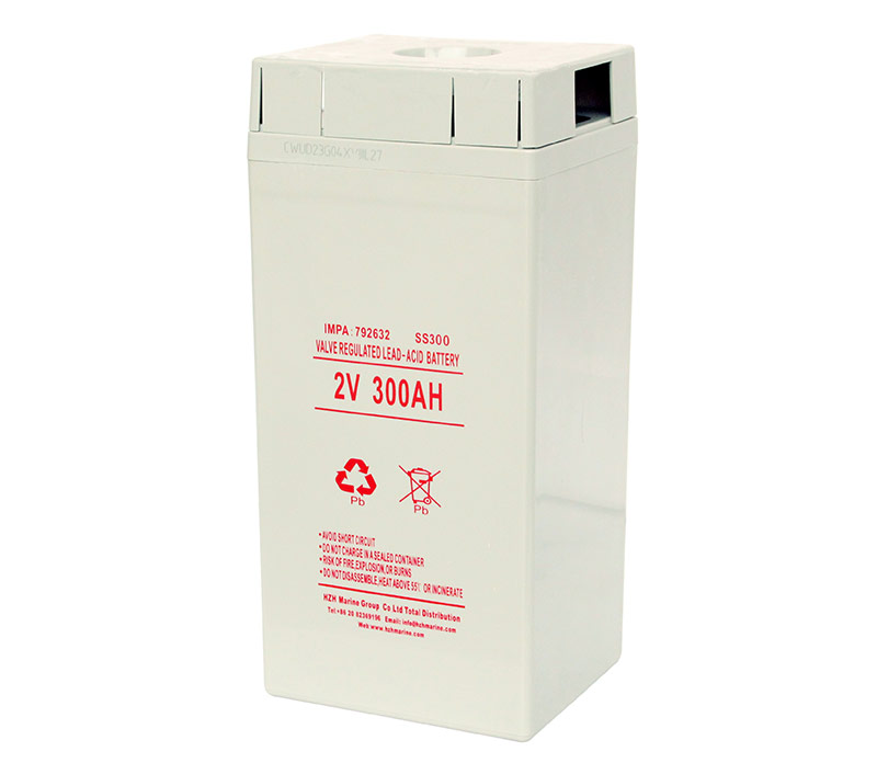 Marine Valve regulated lead-acid battery 2V 300Ah