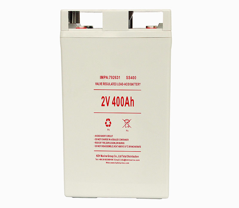 Marine Valve regulated lead-acid battery 2V 400Ah