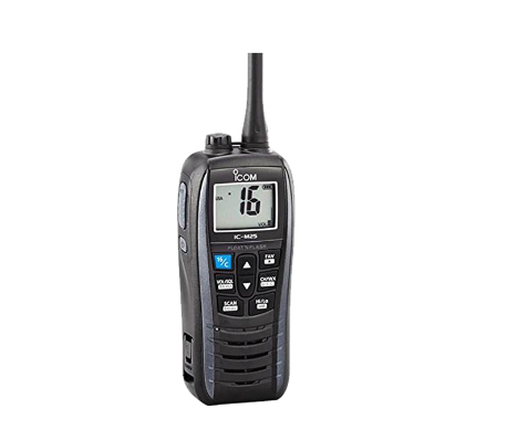 Is The Walkie-talkie On Board VHF Or UHF?