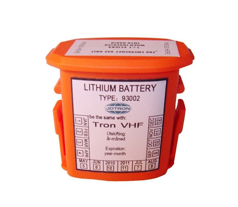 X93002 Lithium battery for Norway JOTRON GMDSS VHF Radio Battery