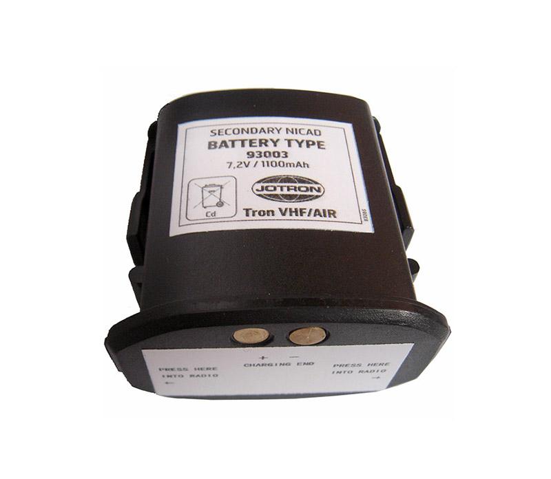 X93003 battery Norway JOTRON VHF AIR VHF telephone batteries