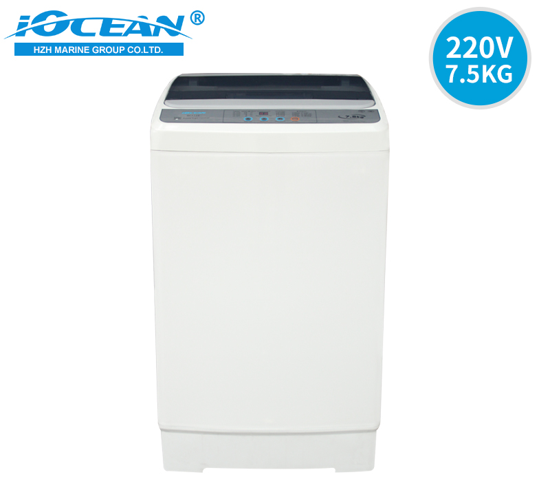 220V 60Hz Marine Full Automatic Washing Machine 7.5kg ICOEAN OCF722