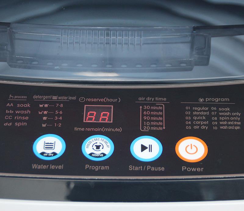 110V 60Hz Marine Full Automatic Washing Machine 7.5kg ICOEAN OCF711