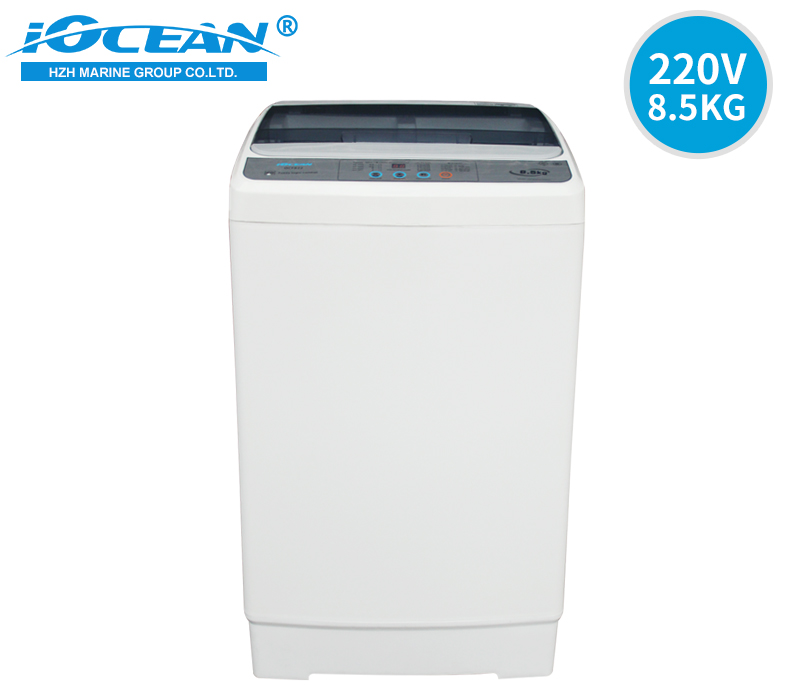 220V 60Hz Full Automatic Large Volume Laundry Machine 8/8.5kg IOCEAN OCF822