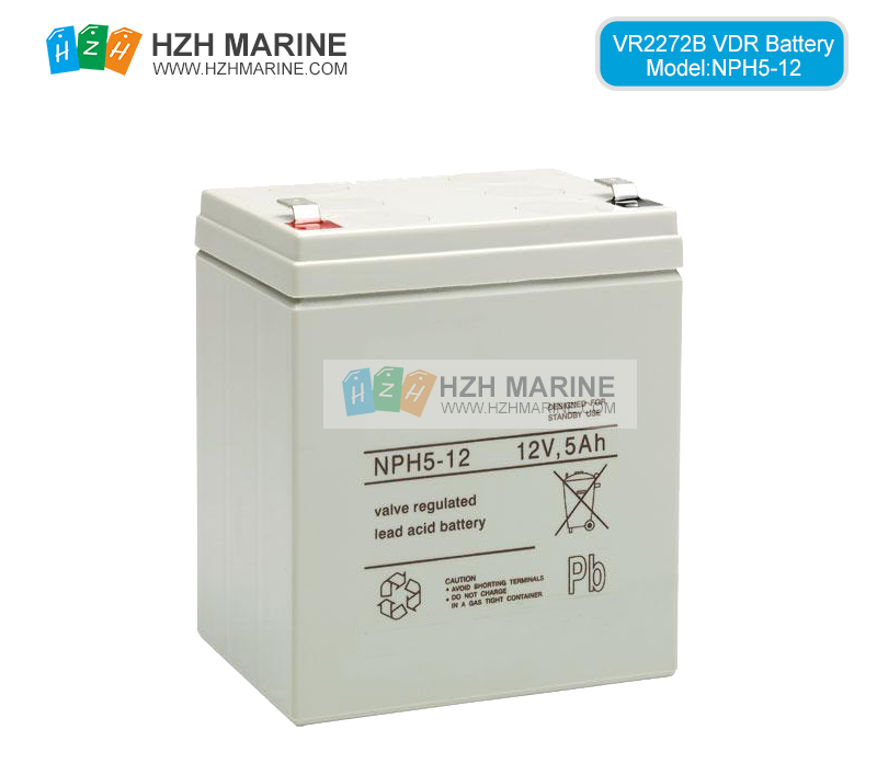 Battery for VOYAGE DATA RECORDER VDR & s-VDR 2272-B