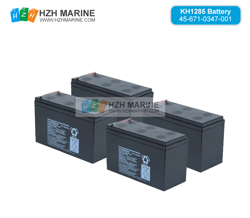 456710347001 Battery for KELVIN HUGHES KH1285 VDR/S-VDR