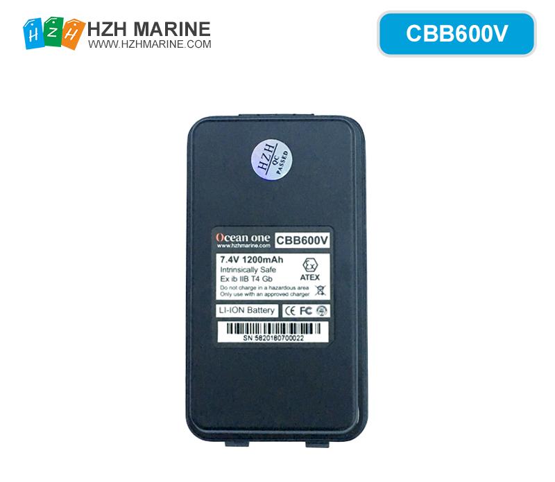 CBB600V battery for A600V Explosion-proof walkie-talkie