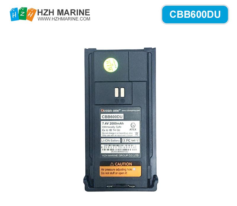 CBB600DU battery for A600DU Explosion-proof digital walkie-talkie