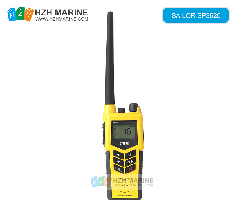 SAILOR SP3520 gmdss marine vhf radio