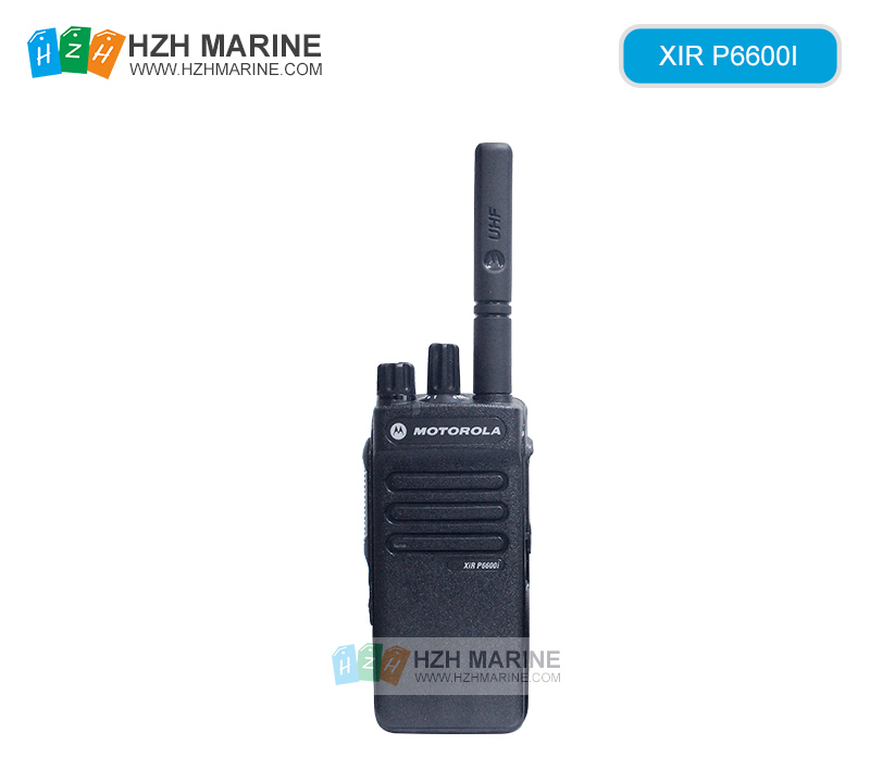 Intrinsic safety radio XIR P6600I UHF/VHF