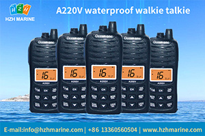 walkie talkie waterproof