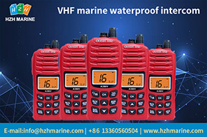 vhf marine waterproof walkie-talkie