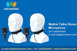 walkie talkie boom microphone