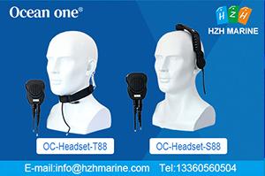 waterproof intercom headsets