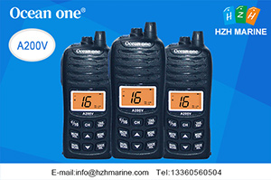 waterproof vhf radio