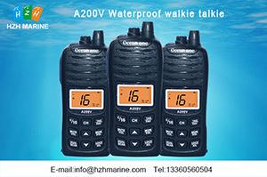 handheld floating two way vhf marine radio